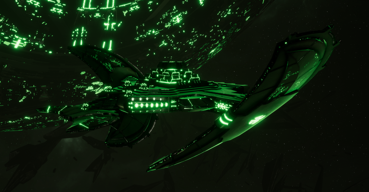 Necron Light Cruiser - Shroud (Temeryn Sub-Faction)