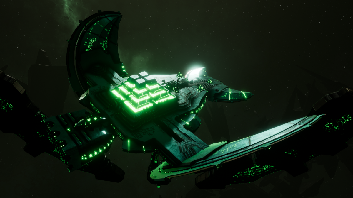 Necron Light Cruiser - Khopesh (Nihilakh Sub-Faction)