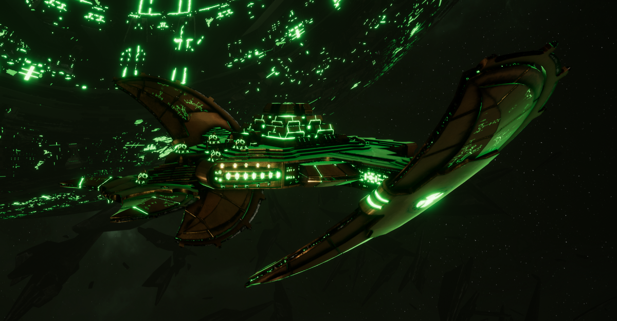 Necron Light Cruiser - Shroud (Nephrekh Sub-Faction)
