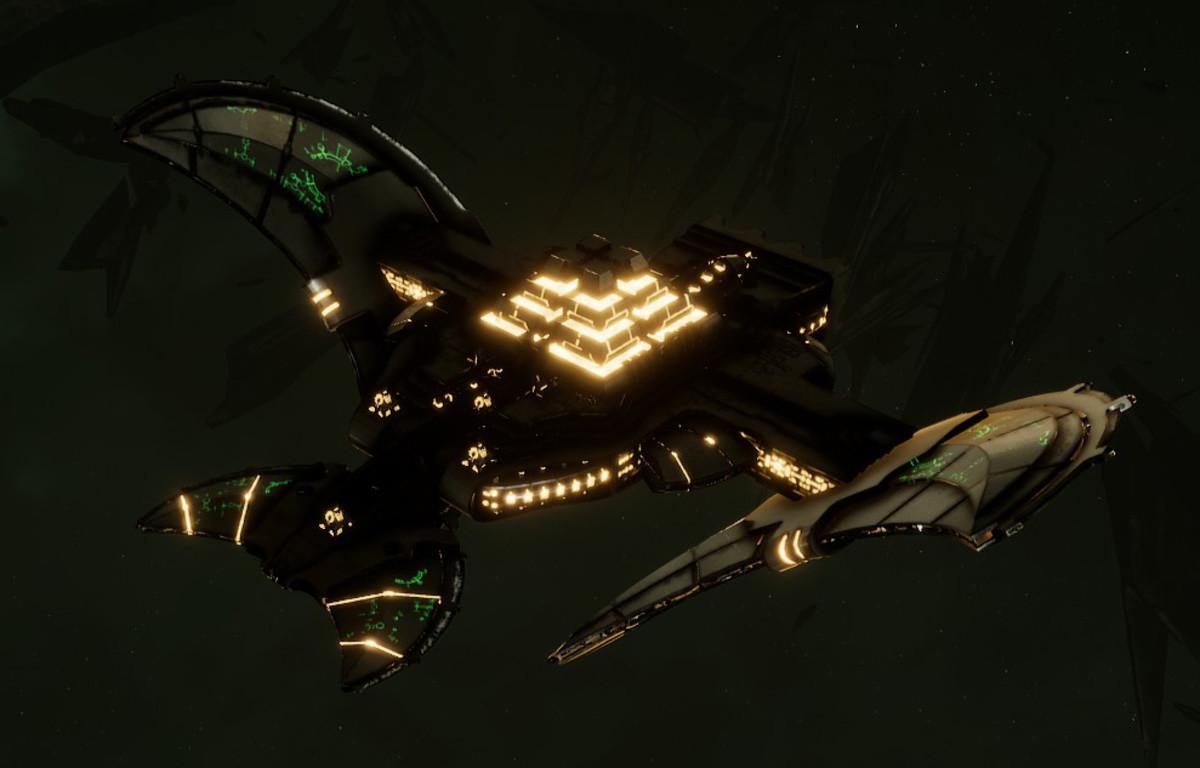 Necron Light Cruiser - Sekhem (Mephrit Sub-Faction)