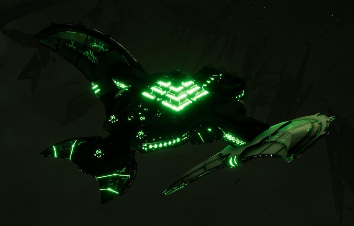 Necron Light Cruiser - Sekhem (Temeryn Sub-Faction)