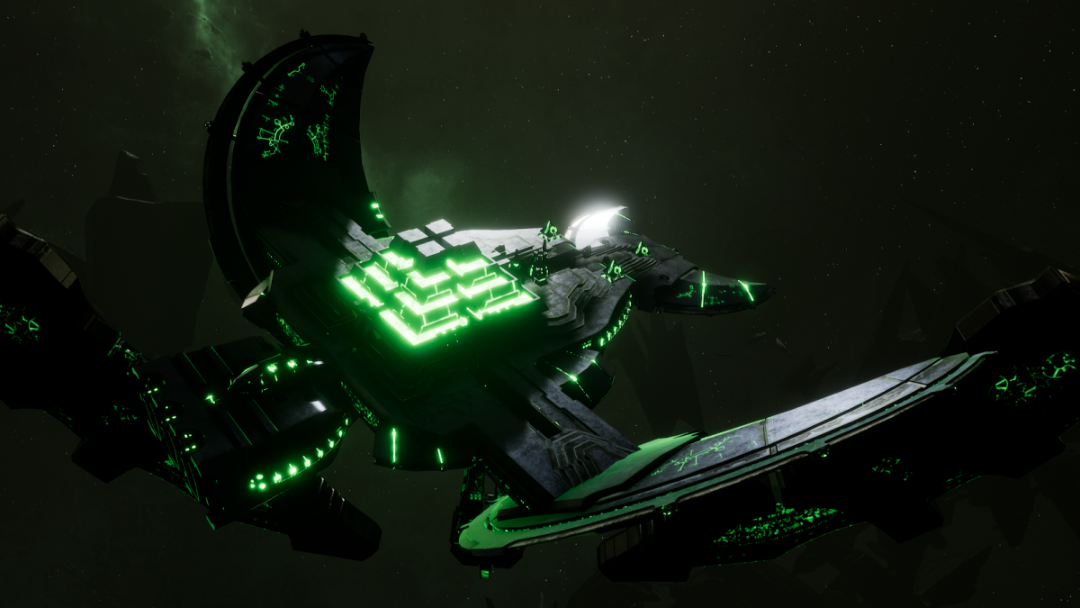 Necron Light Cruiser - Khopesh (Charnovokh Sub-Faction)