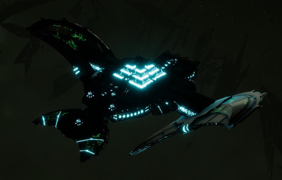 Necron Light Cruiser - Sekhem (Thokt Sub-Faction)