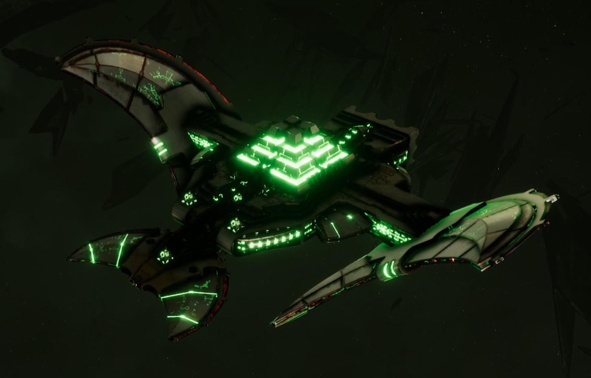 Necron Light Cruiser - Sekhem (Sautekh Sub-Faction)