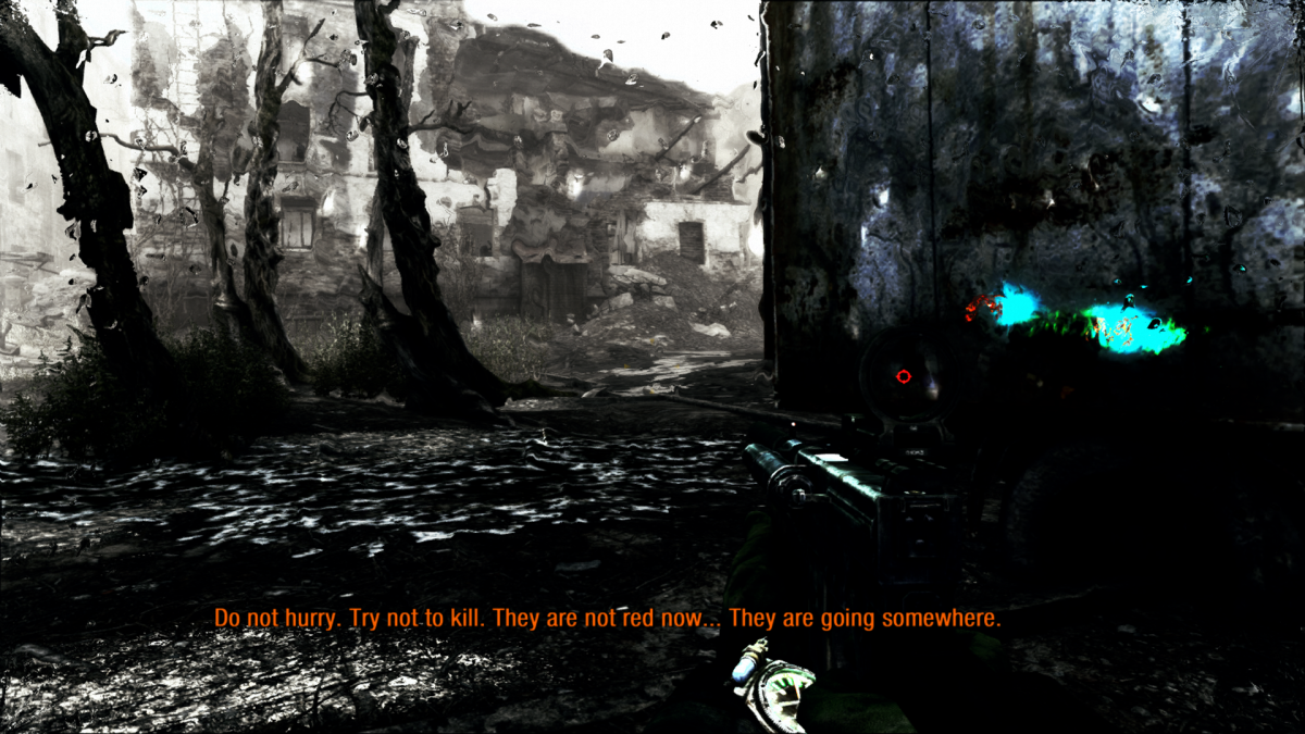 Toward the end of City of Phantoms, you can save yourself a fight by paying attention to the Little Dark One's warning.