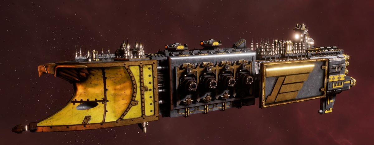 Imperial Navy Light Cruiser - Endeavour (Armageddon Sub-Faction)