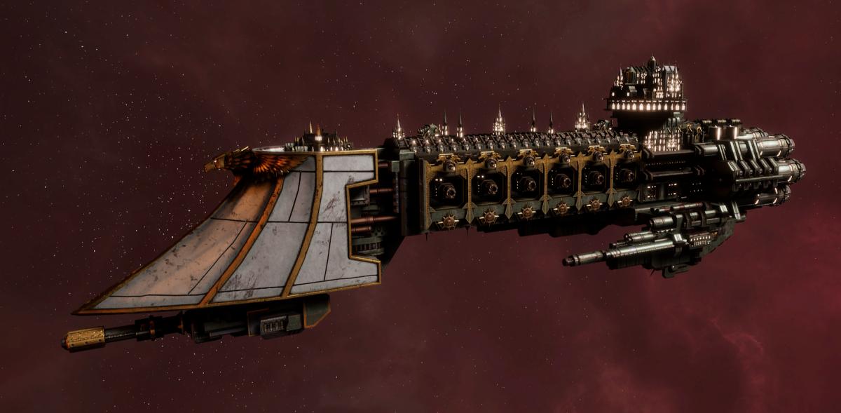Imperial Navy Light Cruiser - Dauntless (Gothic Sub-Faction)