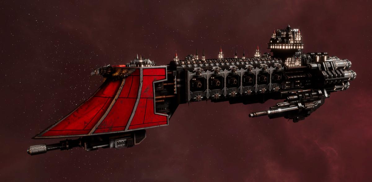 Imperial Navy Light Cruiser - Dauntless (Koronus Sub-Faction)