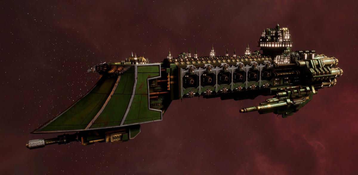 Imperial Navy Light Cruiser - Dauntless (Bakka Sub-Faction)