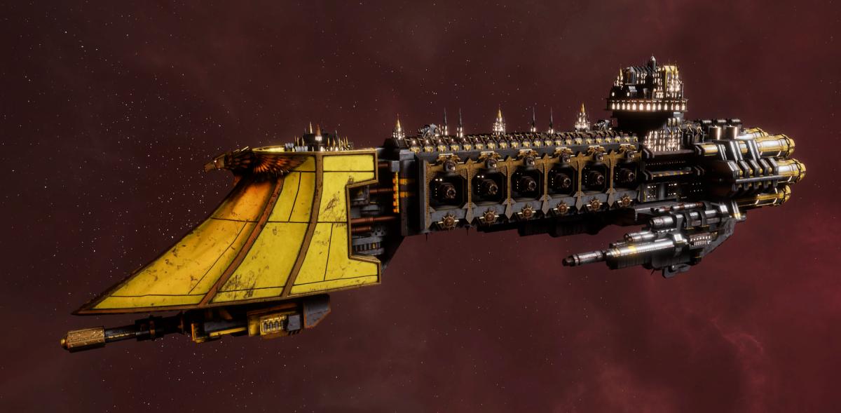 Imperial Navy Light Cruiser - Dauntless (Armageddon Sub-Faction)
