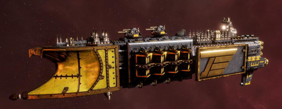 Imperial Navy Light Cruiser - Defiant (Armageddon Sub-Faction)