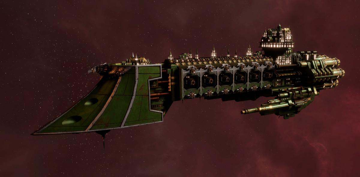 Imperial Navy Light Cruiser - Dauntless MK.II (Bakka Sub-Faction)