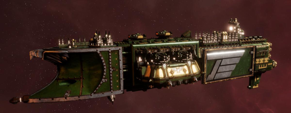 Imperial Navy Light Cruiser - Endurance (Bakka Sub-Faction)