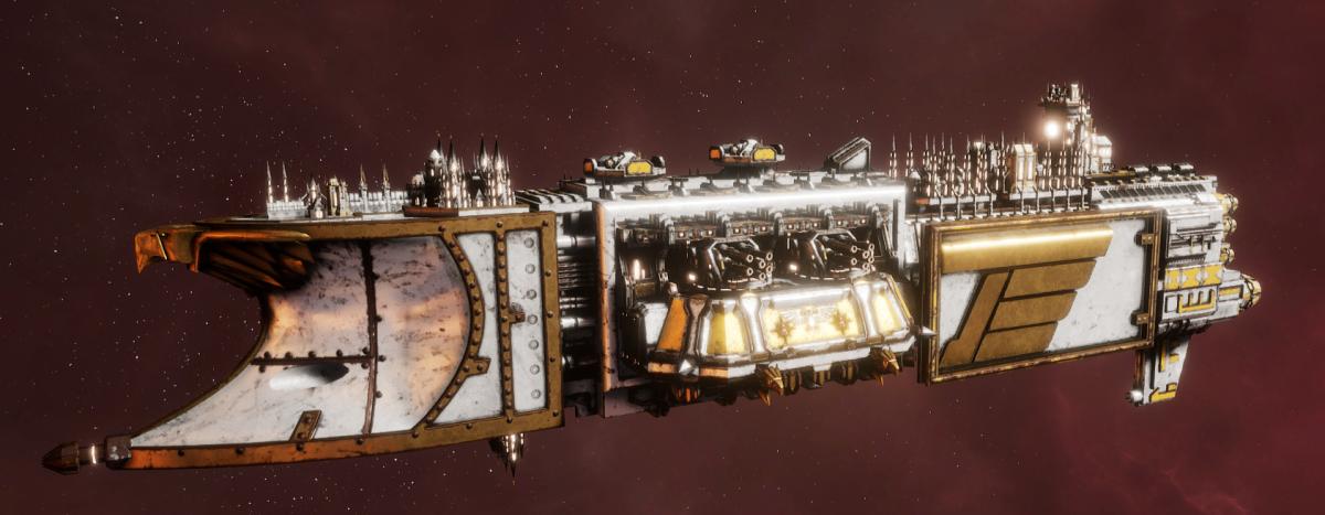 Imperial Navy Light Cruiser - Endurance (Solar Sub-Faction)