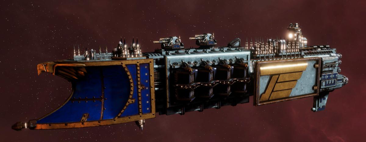 Imperial Navy Light Cruiser - Defiant (Bastion Sub-Faction)