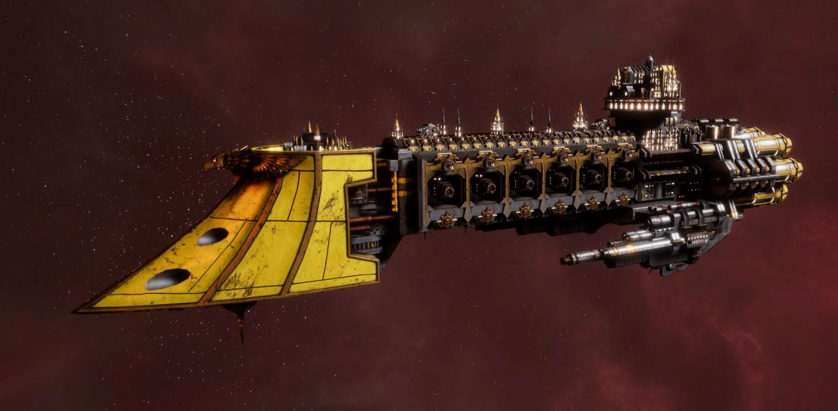 Imperial Navy Light Cruiser - Dauntless MK.II (Armageddon Sub-Faction)