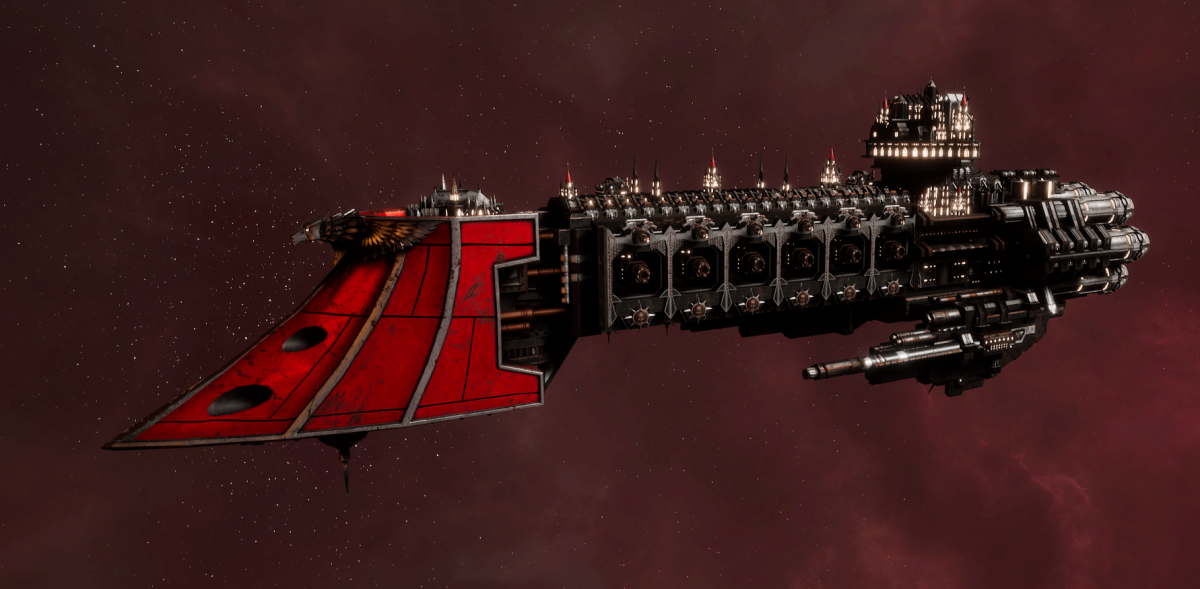 Imperial Navy Light Cruiser - Dauntless MK.II (Koronus Sub-Faction)