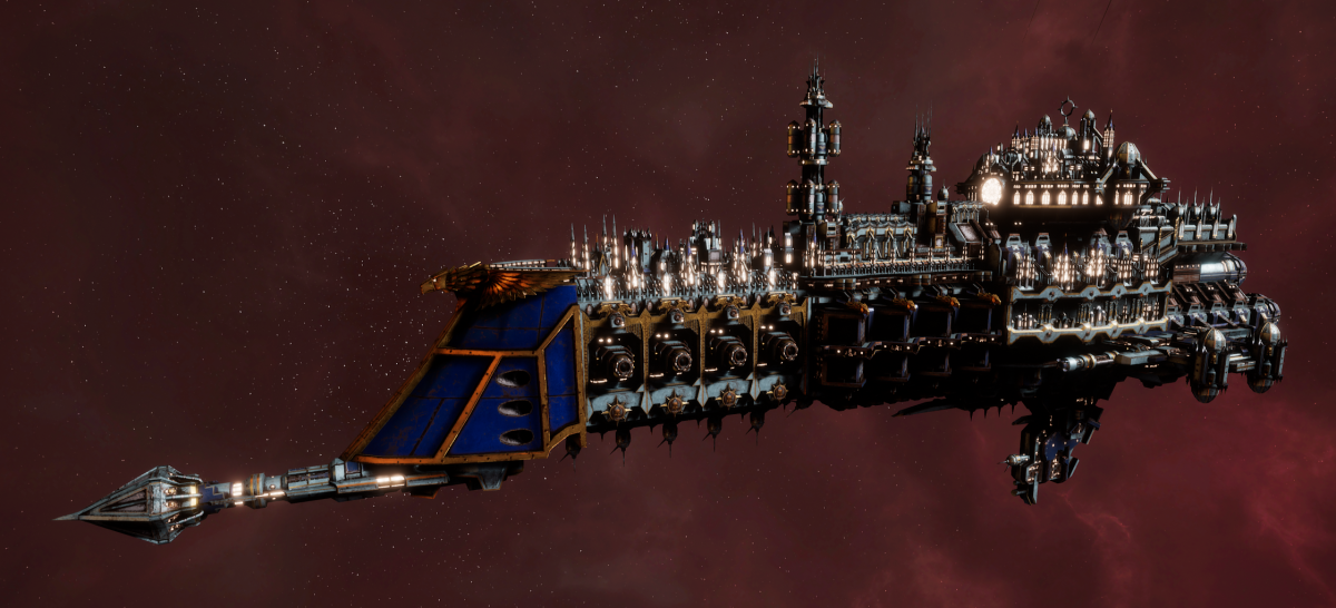 Imperial Navy Cruiser - Dictator (Bastion Sub-Faction)