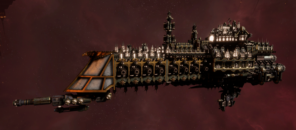 Imperial Navy Cruiser - Dominator (Gothic Sub-Faction)