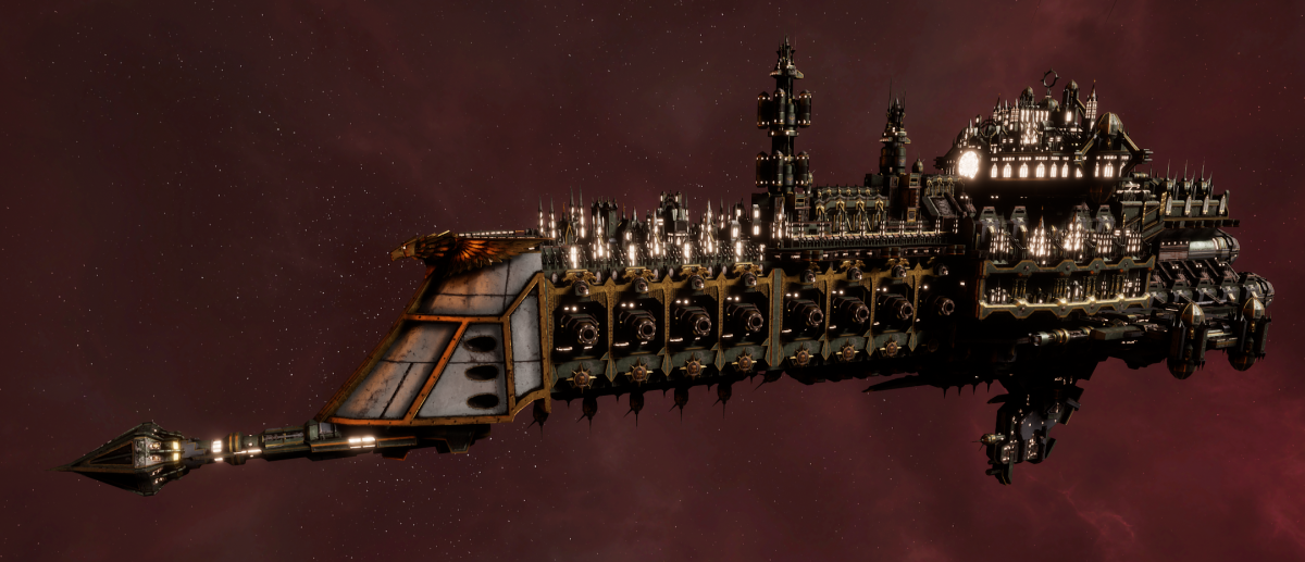 Imperial Navy Cruiser - Tyrant (Gothic Sub-Faction)