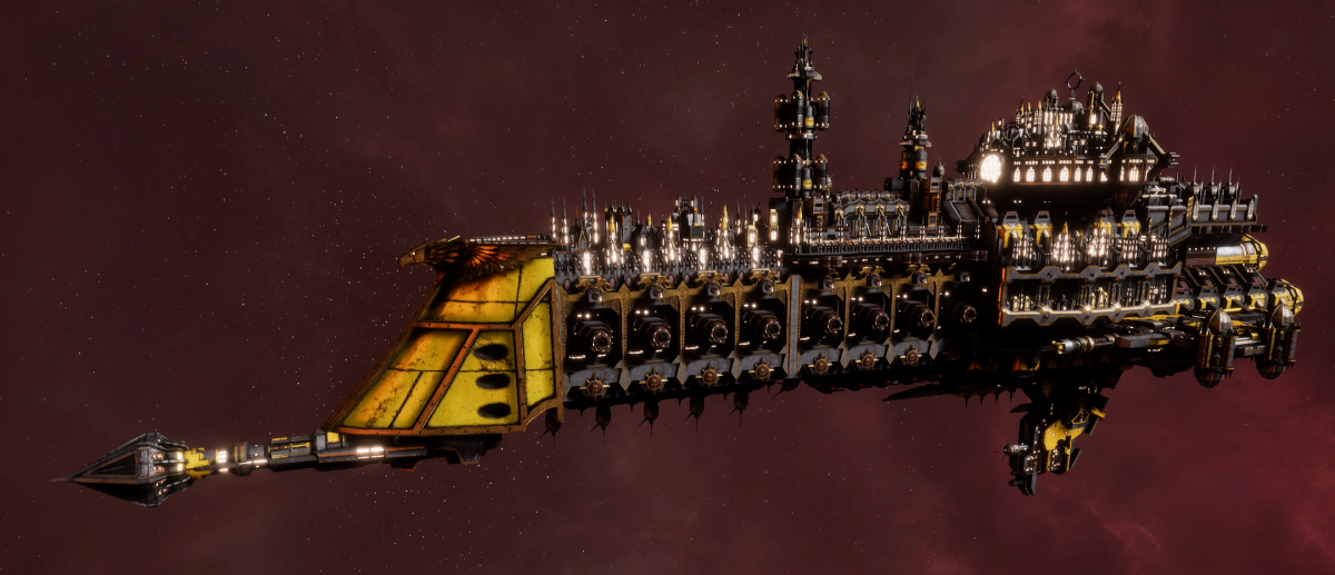 Imperial Navy Cruiser - Tyrant (Armageddon Sub-Faction)