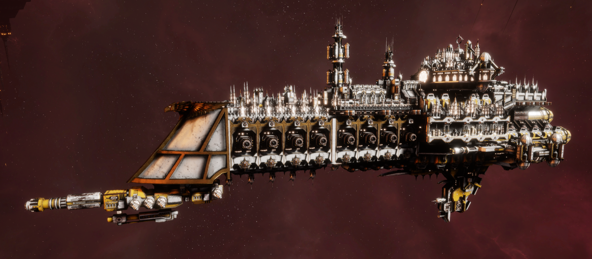 Imperial Navy Cruiser - Dominator (Solar Sub-Faction)