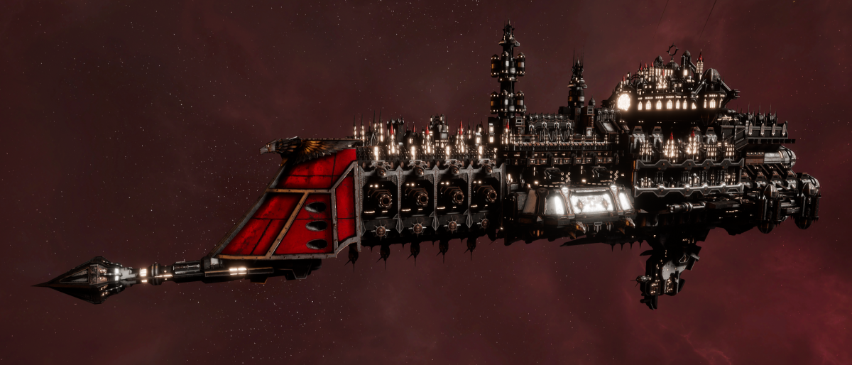 Imperial Navy Cruiser - Lunar (Koronus Sub-Faction)