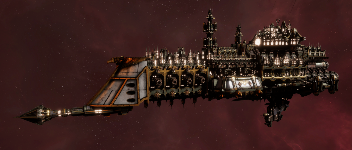 Imperial Navy Cruiser - Lunar (Gothic Sub-Faction)