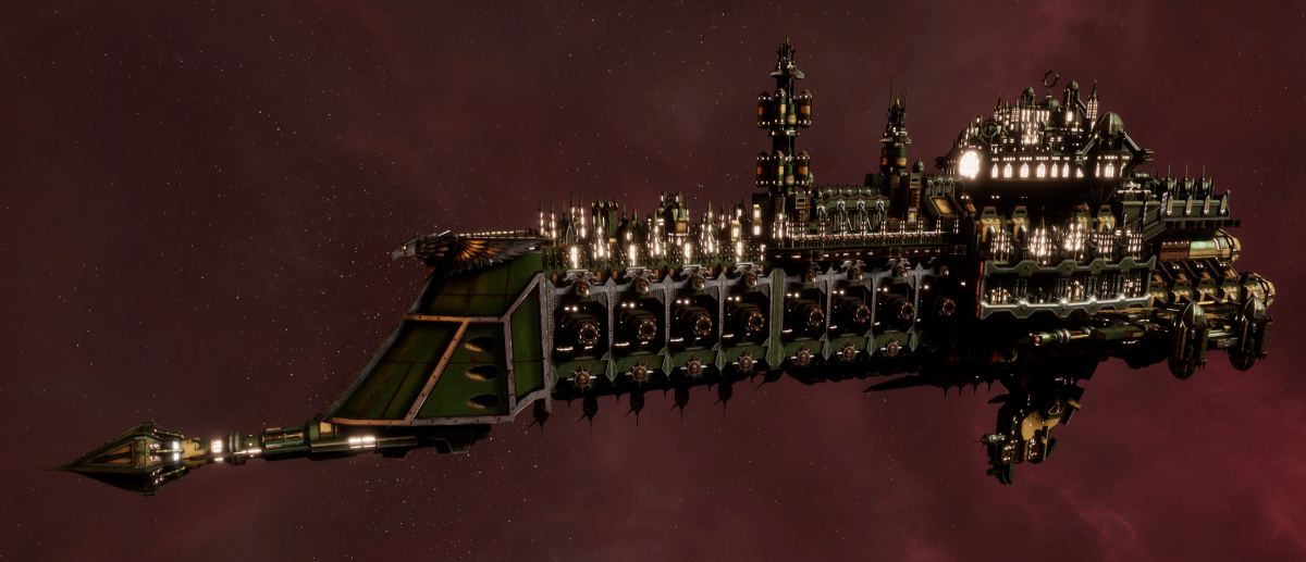 Imperial Navy Cruiser - Tyrant (Bakka Sub-Faction)