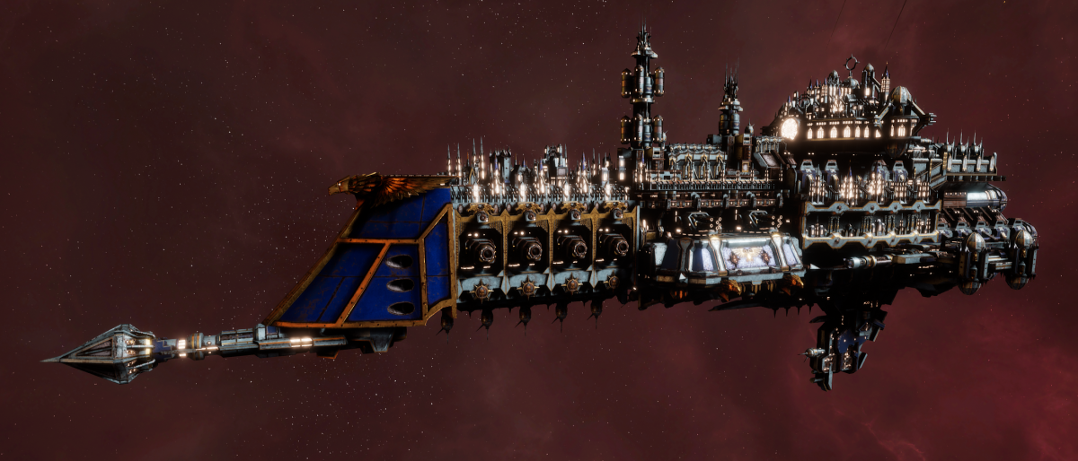 Imperial Navy Cruiser - Lunar (Bastion Sub-Faction)