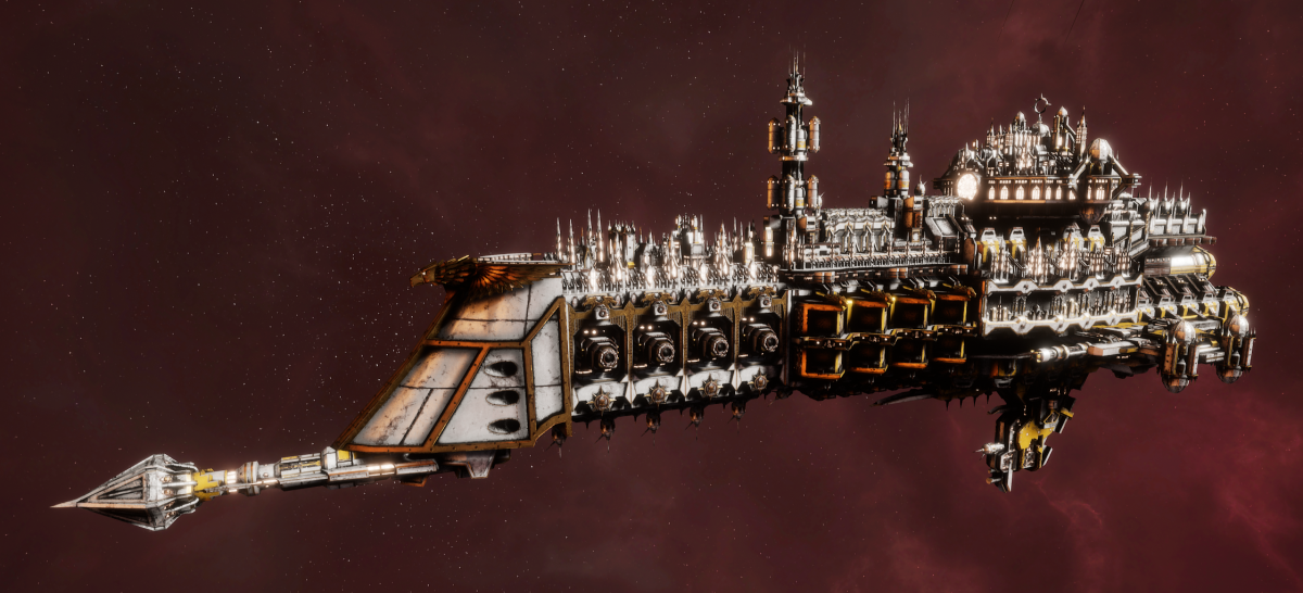 Imperial Navy Cruiser - Dictator (Solar Sub-Faction)