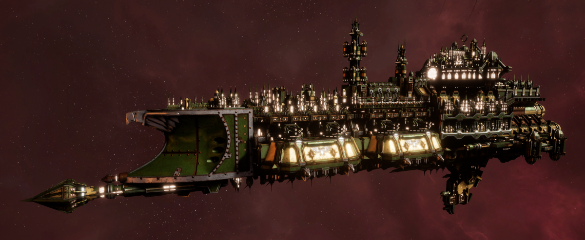 Imperial Navy Cruiser - Gothic (Bakka Sub-Faction)