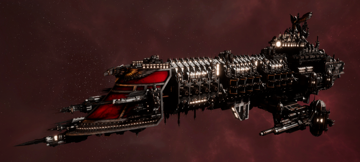 Imperial Navy Battleship - Emperor (Koronus Sub-Faction)