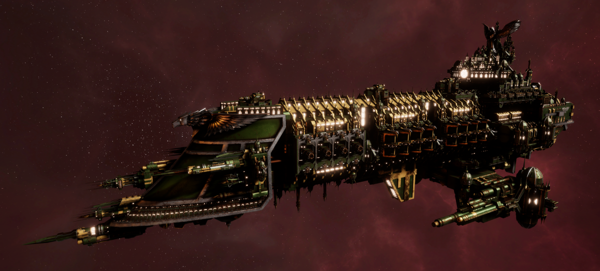 Imperial Navy Battleship - Emperor (Bakka Sub-Faction)