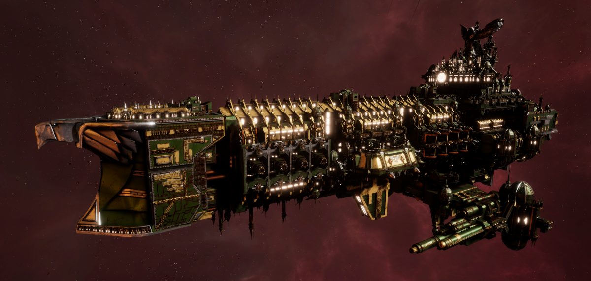 Imperial Navy Battleship - Oberon (Bakka Sub-Faction)