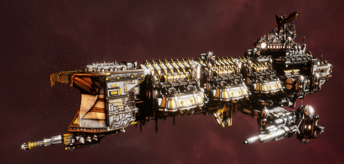 Imperial Navy Battleship - Apocalypse (Solar Sub-Faction)