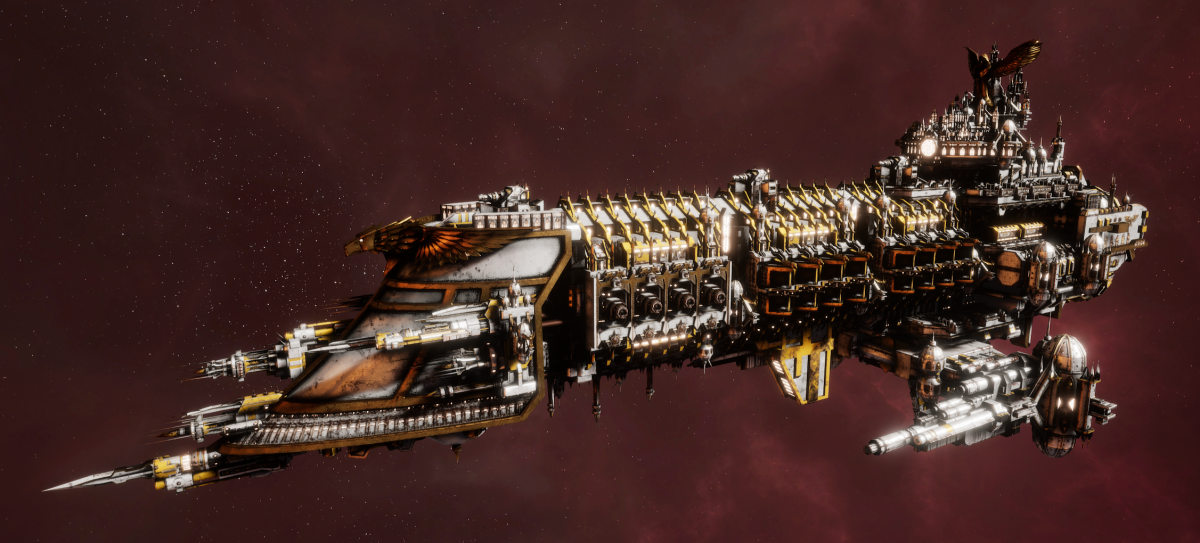 Imperial Navy Battleship - Emperor (Solar Sub-Faction)