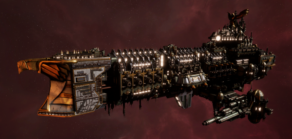 Imperial Navy Battleship - Oberon (Gothic Sub-Faction)