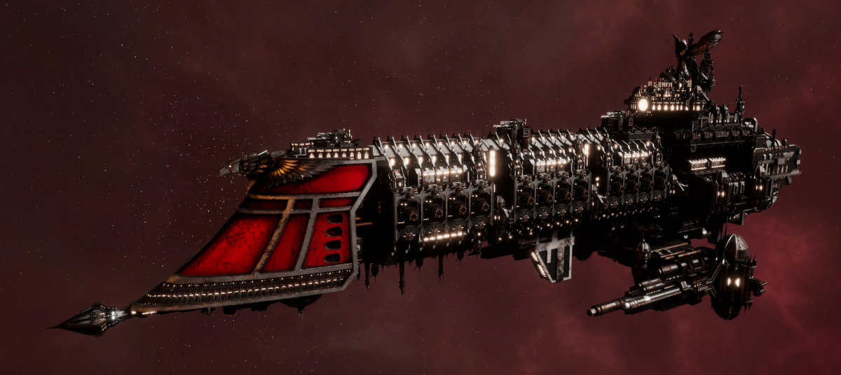 Imperial Navy Battleship - Retribution (Koronus Sub-Faction)