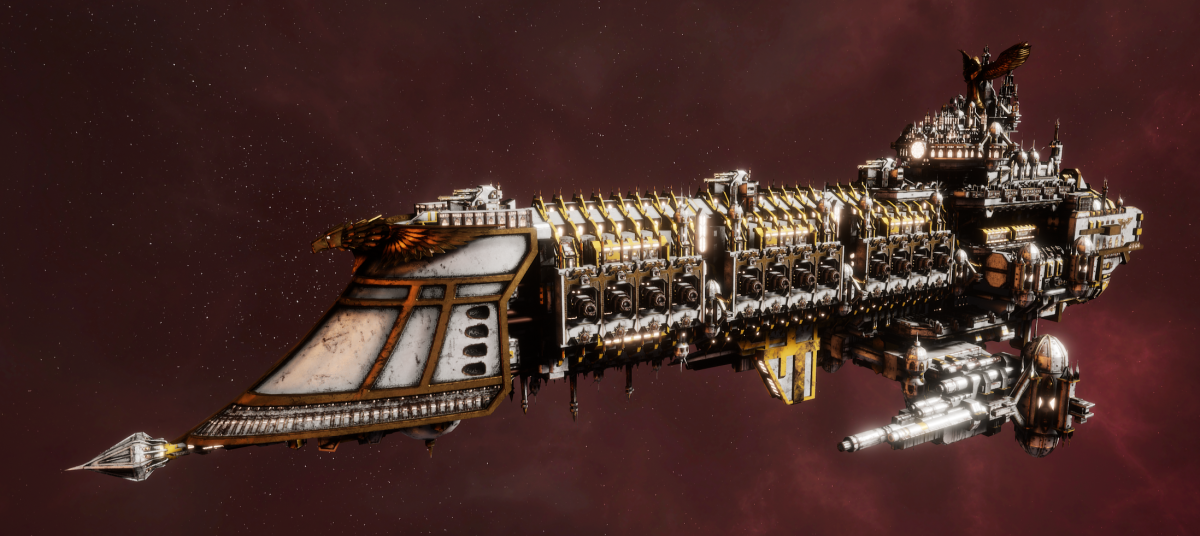 Imperial Navy Battleship - Retribution (Solar Sub-Faction)