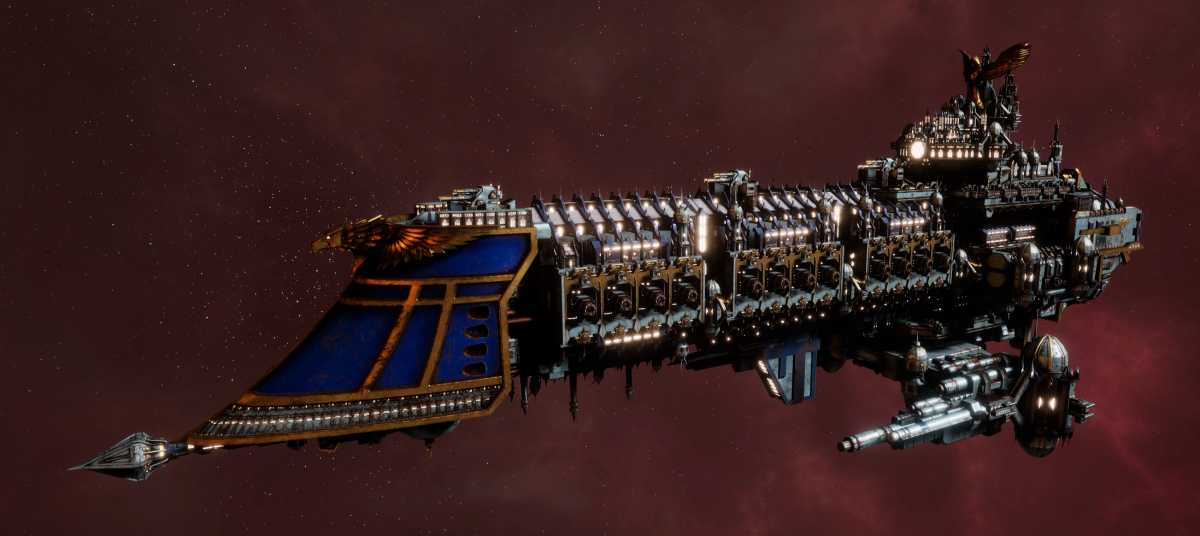 Imperial Navy Battleship - Retribution (Bastion Sub-Faction)