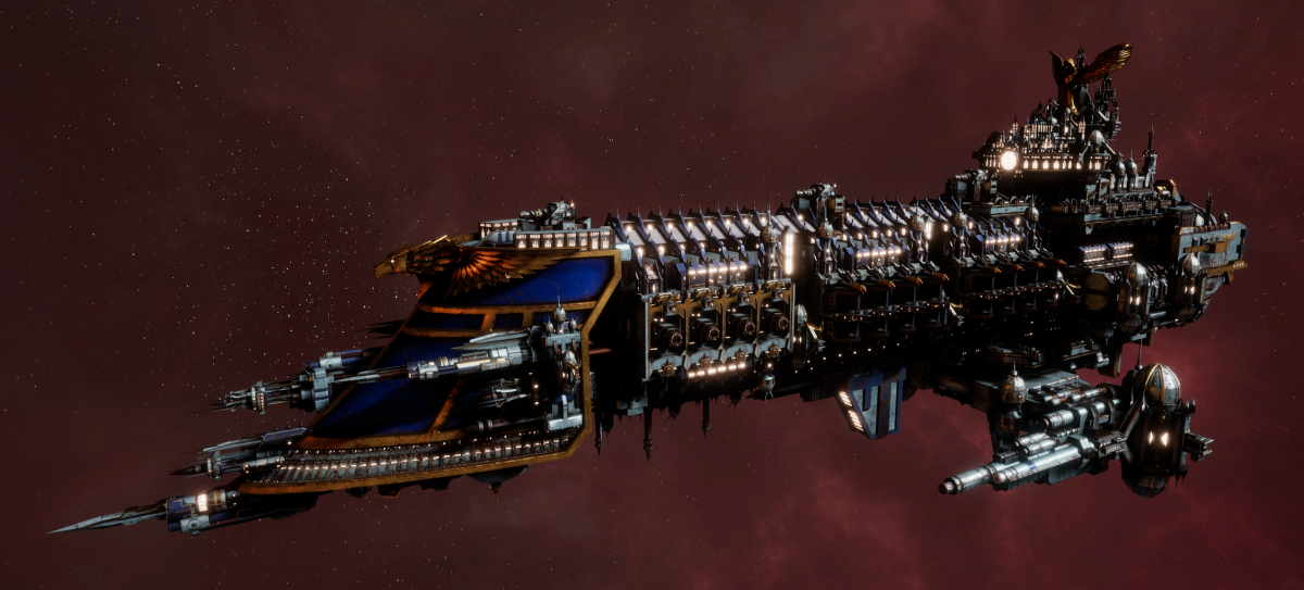 Imperial Navy Battleship - Emperor (Bastion Sub-Faction)