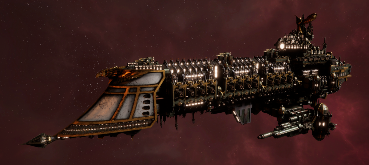 Imperial Navy Battleship - Retribution (Gothic Sub-Faction)