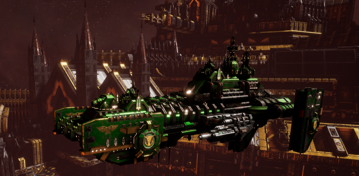 Adeptus Astartes Destroyer - Hunter (Salamanders Faction)