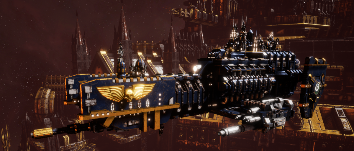 Adeptus Astartes Frigate - Nova (Ultramarines Faction)