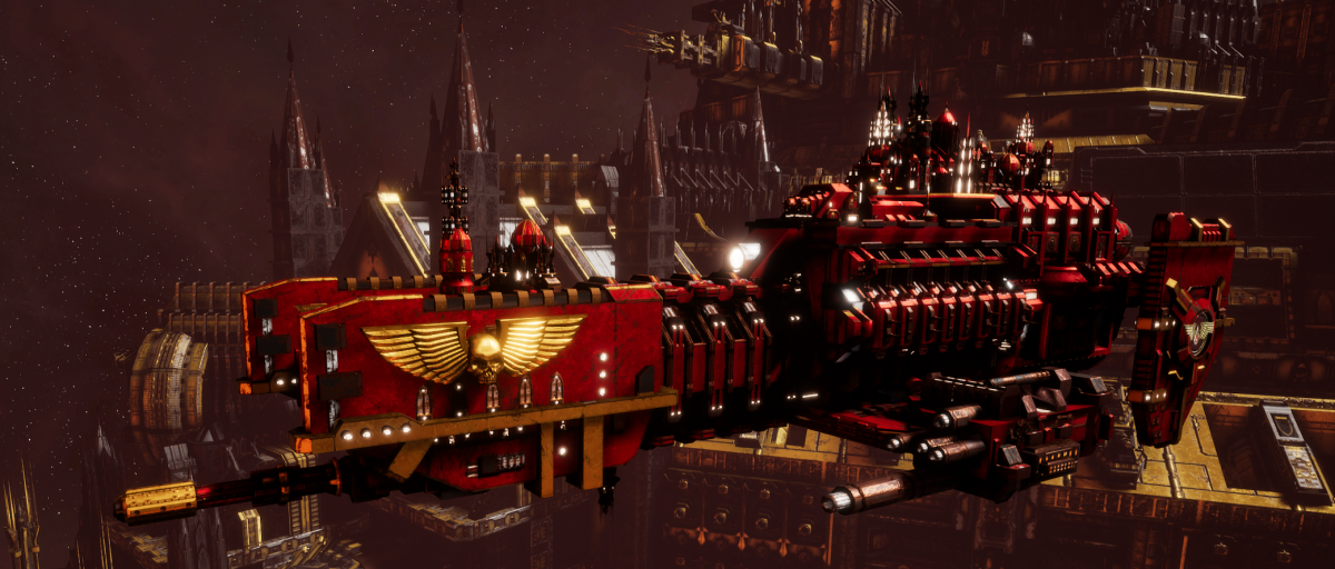 Adeptus Astartes Frigate - Nova (Blood Angels Faction)