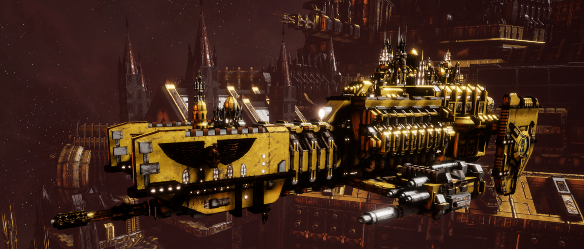 Adeptus Astartes Frigate - Nova (Imperial Fists Faction)