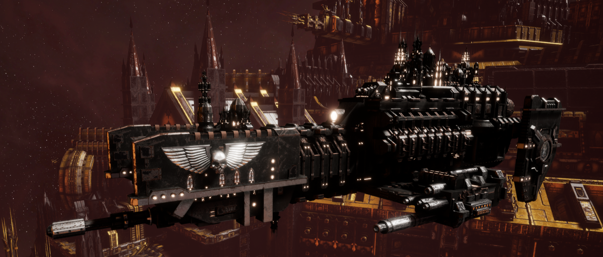 Adeptus Astartes Frigate - Nova (Iron Hands Faction)