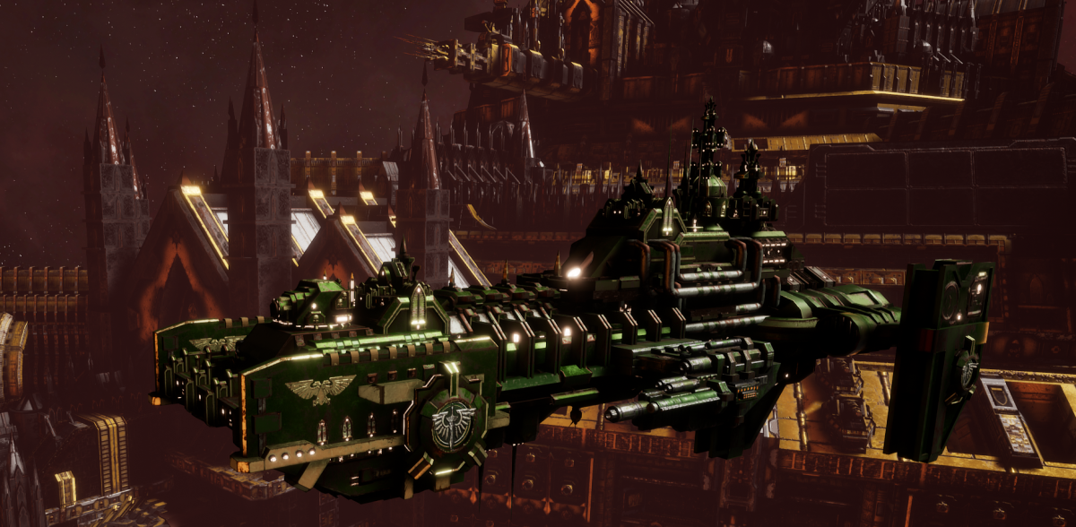 Adeptus Astartes Destroyer - Hunter (Dark Angels Faction)