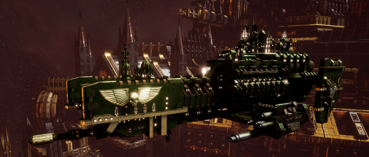 Adeptus Astartes Frigate - Nova (Dark Angels Faction)